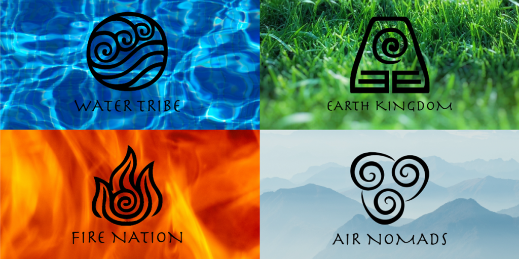 MN DeMolay's 2021 Theme, Avatar, The Last Airbender and the team icons